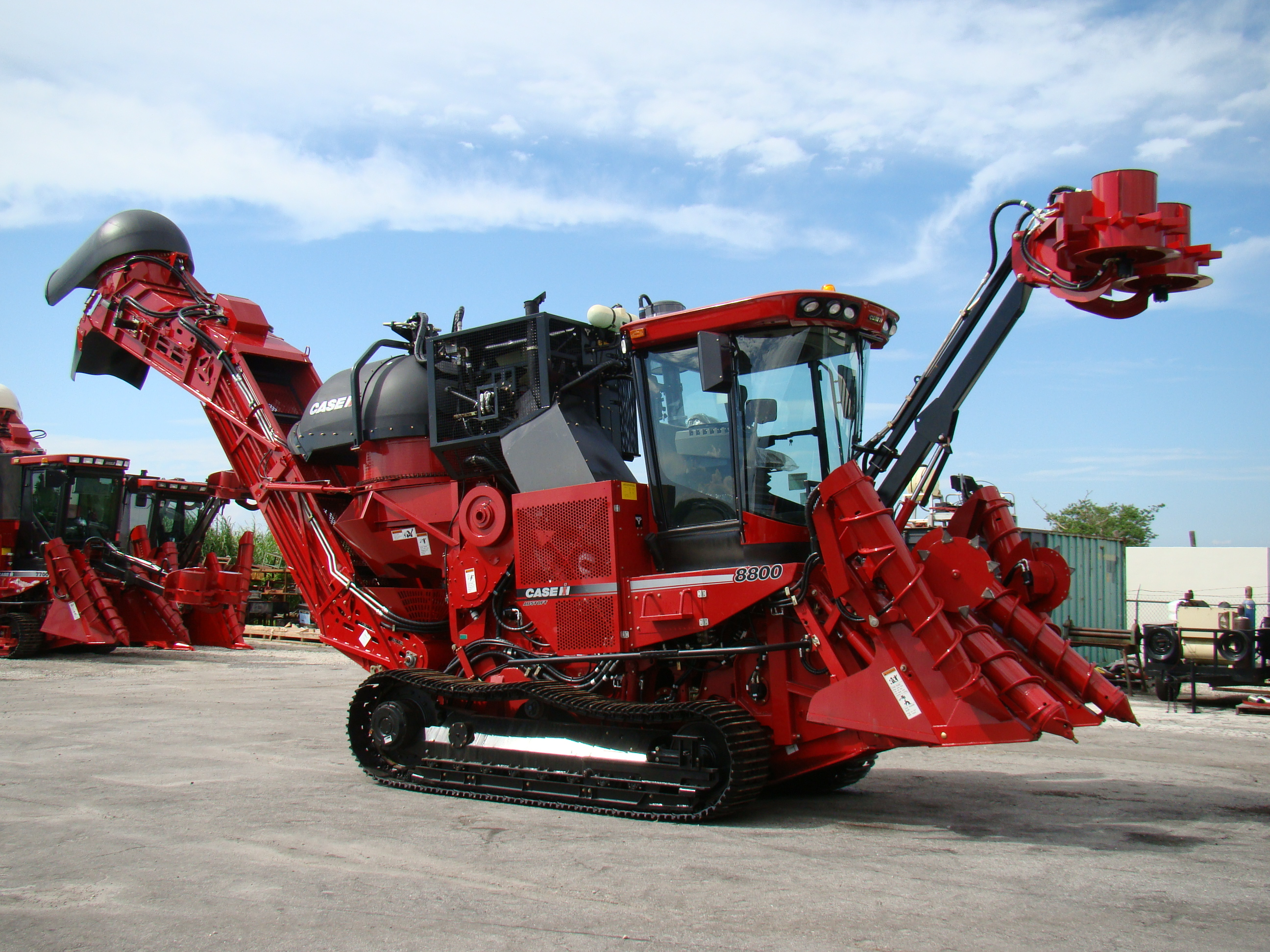 Case 8800 sugarcane harvester 2009